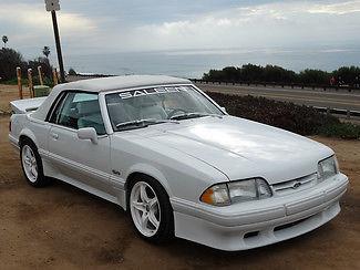 Ford : Mustang Saleen LX Convertible MERV GRIFFIN'S #12 SALEEN!