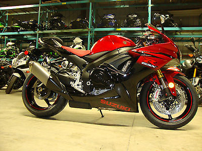 Suzuki : GSX-R 2014 suzuki gsx r 750 50 th anniversary edition sport bike red warranty 1775