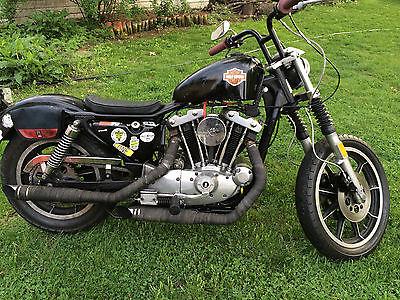 Harley-Davidson : Sportster Ironhead Bobber XLH1000