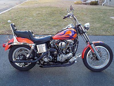 Harley-Davidson : Other 1954 harley davidson fle panhead police special panshovel only 2 838 miles