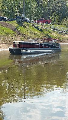 Harris Grand Mariner SEL 250 Pontoon