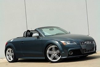 Audi : TT TTS ROADSTER 1 owner 19 s automatic navigation ipod new tires super fun tt s