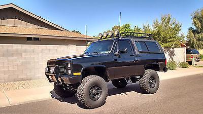 Chevrolet : Blazer K5 1985 chevrolet k 5 blazer 4 x 4 crate 454 w bowtie heads zombie apocalypse