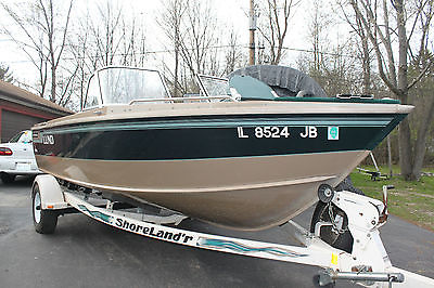 LUND boat 1800 Fisherman 1997-  Honda 150 hp 4 stroke 2012 Warranty