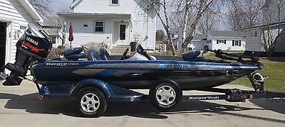 2006 Ranger Fishing Bass Boat 178SVS 150 Yamaha V-Max HPDI Low Hours