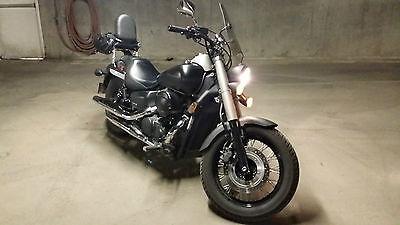Honda : Shadow Cool 2012 Matte Black Phantom w/ extras!
