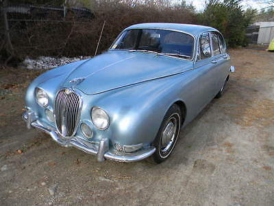 Jaguar : Other LEATHER 1965 jaguar s type barn find stored 30 years