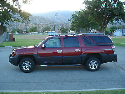 Chevrolet : Avalanche 2005 Chevy Avalanche 2500 LT With Camper Shell 2005 chevy avalanche 2500 lt with camper shell low miles 60 163 k miles
