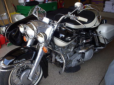 Harley-Davidson : Other HARLEY 65 PANHEAD ORIGINAL PAINT AMCA JUDGED 98 POINT WITH 65 HD SIDECAR