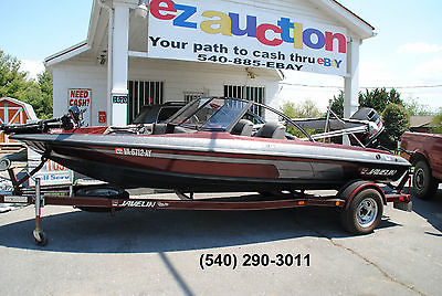 1998 Javelin 379FS 18' Fish & Ski Boat - Huge 150 HP Johnson Outboard - Extras