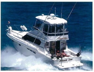 2000 SILVERTON 42C CONV DIESEL POWER BOAT SPORT FISHERMAN YACHT CHICAGO EX COND