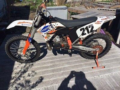 KTM : SX 09 ktm 250 sx with sxs 300 cc kit installed