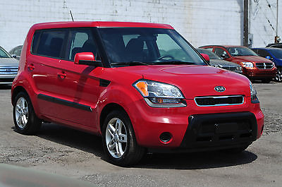 Kia : Soul 4u Hatchback 4-Door Only 62KKeyless Entry Bluetooth CD Alloys Clean Economical Car Rebuilt 12 10