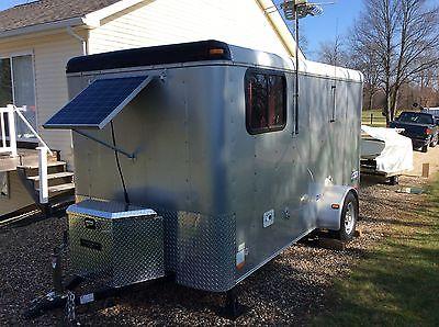 Small camper travel trailer. Michigan.