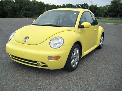 Volkswagen : Beetle-New GLS 2002 vw beetle gls double yellow moonroof
