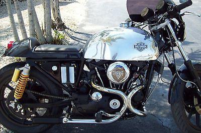 Harley-Davidson : Sportster 79 harley davidson 1000 xlh xlcr vintage cafe racer e start 10 k miles new parts