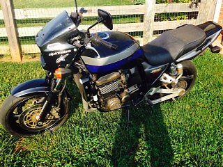 Kawasaki : Other Kawasaki ZR1200 (2001) Blue/Black Street Bike