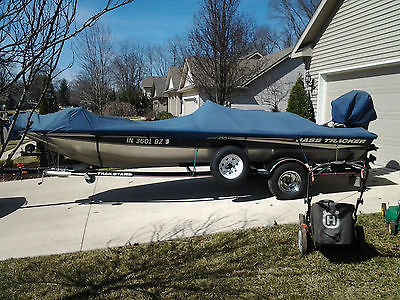 2004 BASS TRACKER PRO TEAM 185 WITH 60 HP 4 STROKE MERCURY EXCELLENT COND!
