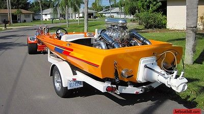 Avenger jet boat blown 496 871 Supercharger 850hp not a tunnel pickle fork FAST