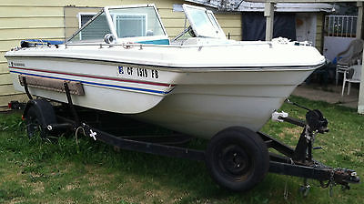 1972 Thunderbird Fishing Boat with Trailer