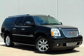 GMC : Yukon DENALI XL 1 owner navigation dvd sunroof 20 s quads bu camera texas truck