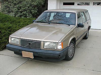 Volvo : 740 Wagon 1990 volvo gle wagon dohc not running