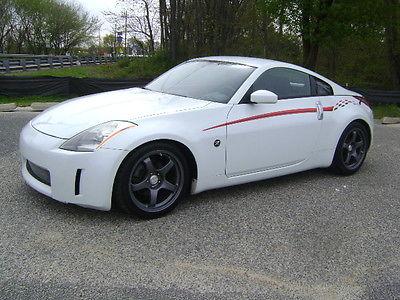 Nissan : 350Z Base Coupe 2-Door 2004 nissan 350 z ssr wheels nismo stripe limited slip 6 speed