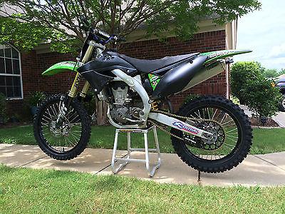 Kawasaki : KX 2009 kawasaki kx 450 f plus riding equipment