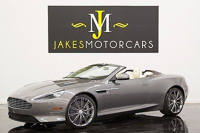 Aston Martin : Other Virage Volante 2012 aston martin virage volante hammerhead silver cream truffle stunning car