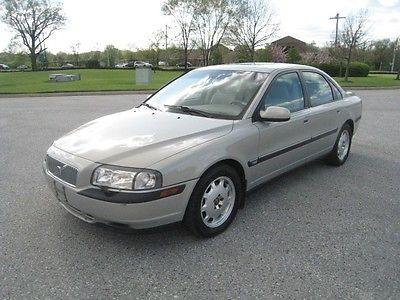 Volvo : S80 VOLVO 4 LIFE 2001 volvo s 80 2.9 l no accidents 2 owner non smoker adult owned service records