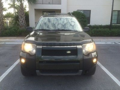 Land Rover : Freelander SE FOUR WHEEL DRIVE SE Low Miles Clean Autocheck All Wheel Drive Garage Kept Florida Sunroof Leather