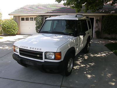 Land Rover : Discovery Series II SE Sport Utility 4-Door 2001 land rover discovery 4 x 4