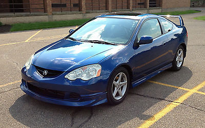Acura : RSX Coupe 2004 acura rsx type s a spec blue