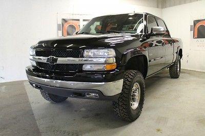 Chevrolet : C/K Pickup 2500 LT 4X4 Crew 2002 chevrolet silverado 2500 hd lt 4 x 4 crew cab
