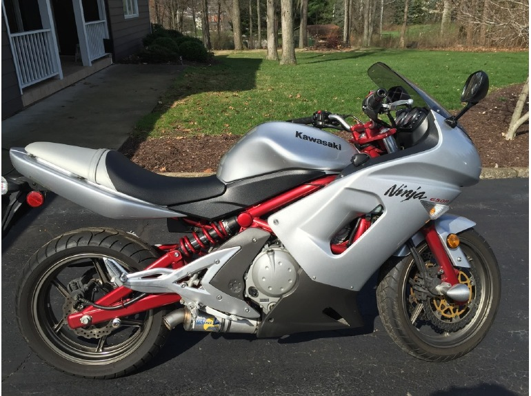 kawasaki ninja 650r motorcycles for sale in columbus ohio. Black Bedroom Furniture Sets. Home Design Ideas