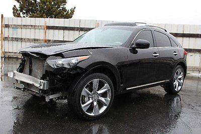 Infiniti : FX 50 AWD 2012 infiniti fx 50 awd damaged rebuilder loaded luxurious priced to sell l k
