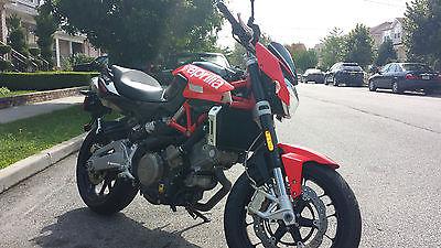 Aprilia : Shiver Motorcycle - Aprilia Shiver 750 w/ Leo Vince Exhaust