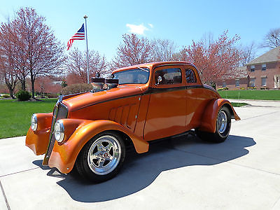 Willys : 77 Coupe 1933 willys chuck finders chassis absolutely gorgeous perfect paint