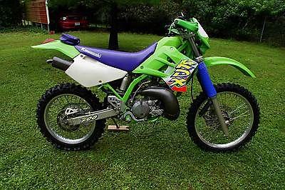 Kawasaki : KDX Clean 1997 Kawasaki KDX200 H3