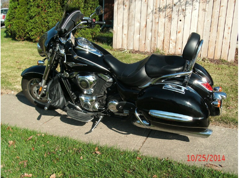 kawasaki vulcan 1700 nomad motorcycles for sale in columbus ohio. Black Bedroom Furniture Sets. Home Design Ideas