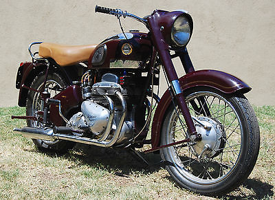 Triumph : Other 1957 ariel sqaure four expertly rebuilt older restoration runs perfectly
