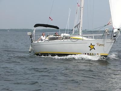 Sailboat Elite 32 SM 1984 - Ready to sail