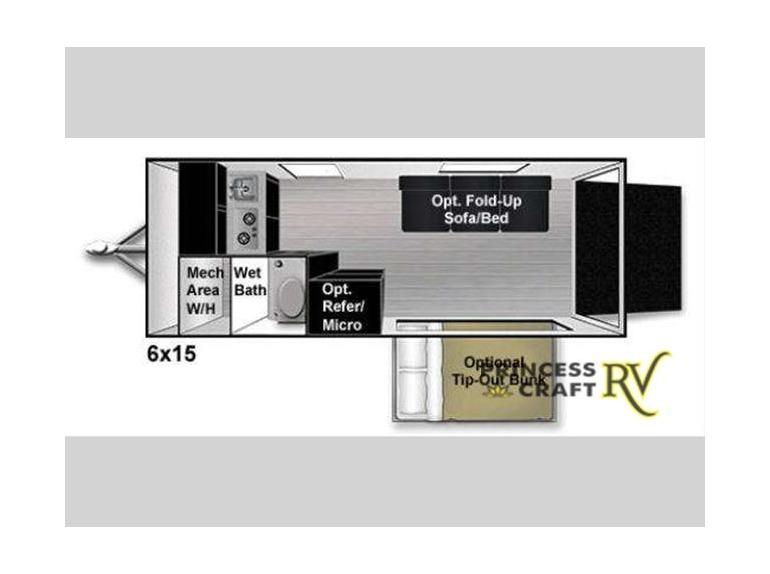 2015 Livin Lite Quicksilver VRV 6 x 15