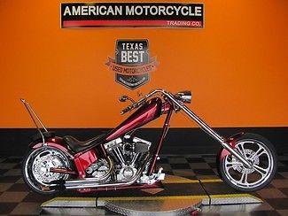 American Ironhorse : Texas Chopper 2004 used rebel red american ironhorse texas chopper awesome loaded