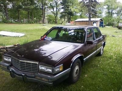 Cadillac : DeVille Base Sedan 4-Door 1991 cadillac sedan deville parts car