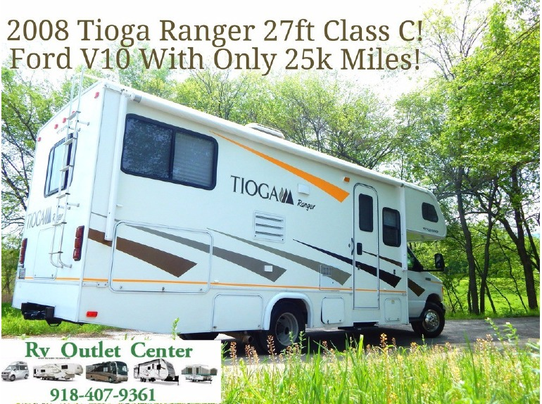 Tioga 27ft Class C Rvs For Sale