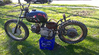 Harley-Davidson : Other 1961 harley davidson sprint c model 250 c 250 vintage rare motorcycle original