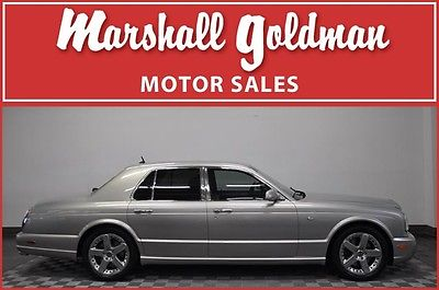 Bentley : Arnage T 2004 bentley arnage t silver black dvds rear picnic tables only 20900 miles
