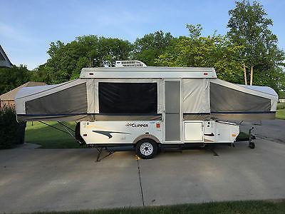 2006 Coachmen Clipper 1270ST Pop-up Travel Trailer Camper