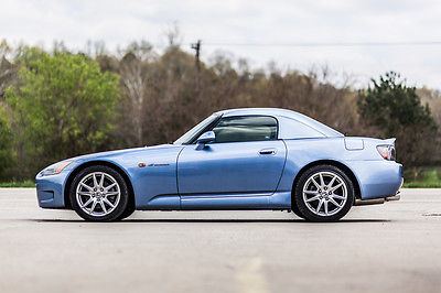 Honda : S2000 ABSOLUTELY GORGEOUS S2000 WITH ONLY 53K MILES RARE 2003 honda s 2000 rare ap 1 with hardtop blue on blue must see like miata lotus